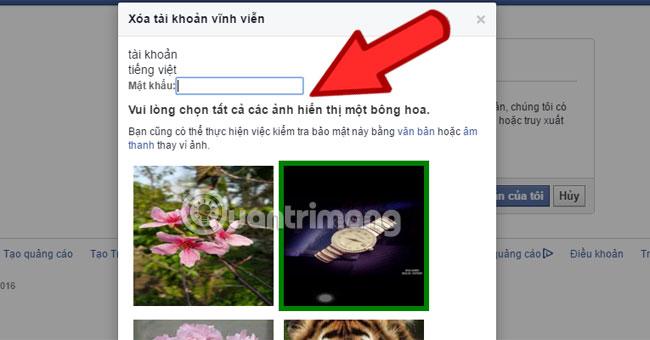 Cách xóa tài khoản Facebook vĩnh viễn