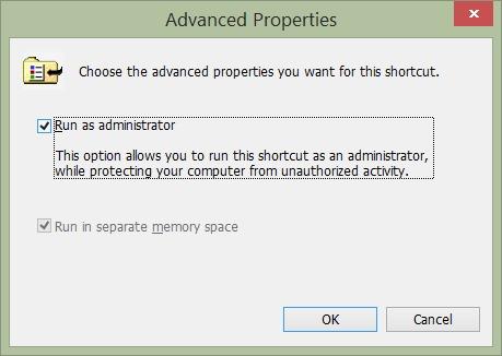 Thủ thuật chạy Control Panel dưới quyền Admin trên Windows