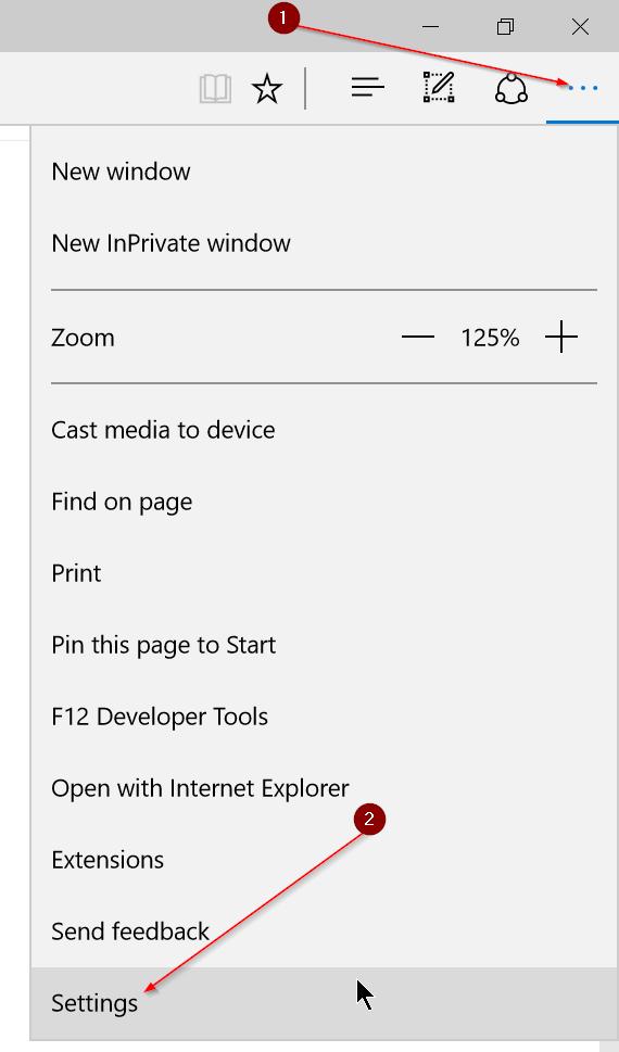 Hướng dẫn thay đổi thư mục Download của Microsoft Edge
