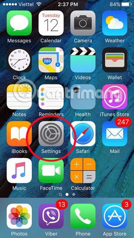 Thêm biểu tượng cảm xúc khi nhắn tin trên iPhone