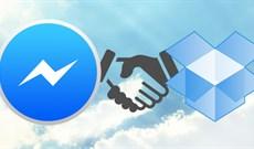 Chia sẻ file Dropbox qua Facebook Messenger