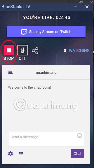 Cách stream game BlueStacks bằng Facebook Live