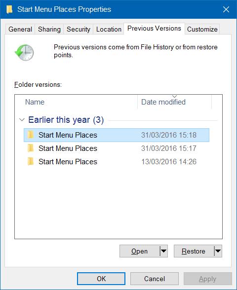 Khôi phục biểu tượng File Explorer bị mất trên Start Menu Windows 10