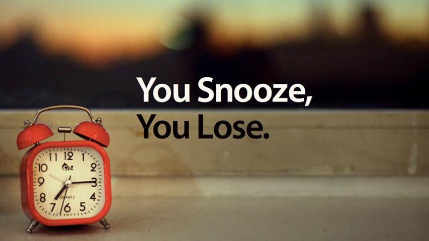 Thức dậy sớm