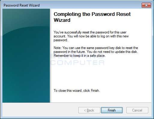 Sử dụng Password Reset Disk để reset mật khẩu Windows như thế nào?