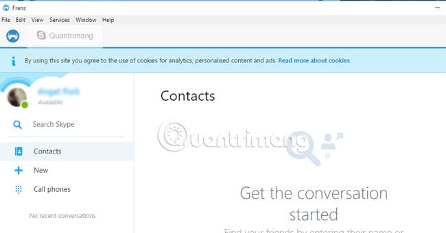 Cách sử dụng nhiều ứng dụng chat trên cùng một cửa sổ