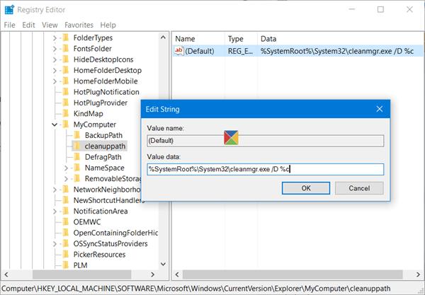 Lỗi thiếu Disk Cleanup trên Windows 10/8/7, đây là cách khắc phục