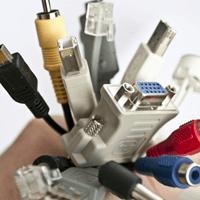 Phân biệt các loại dây cáp máy tính phổ biến