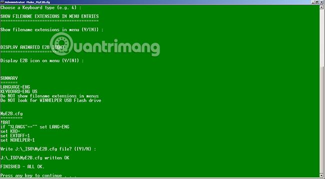 Cách tạo USB boot cài nhiều Windows bằng Easy2Boot - Quantrimang com