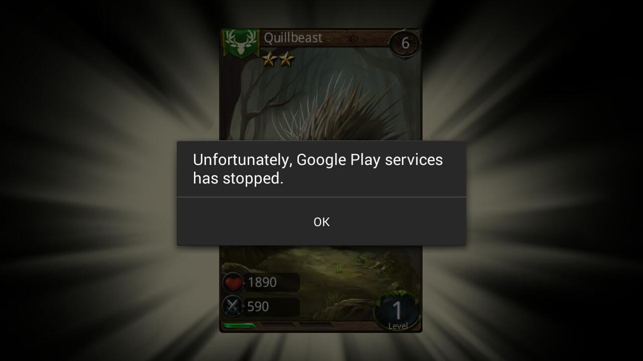 Các bước sửa nhanh lỗi Unfortunately Google Play Services