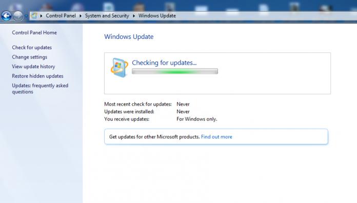 Luôn cập nhật Windows