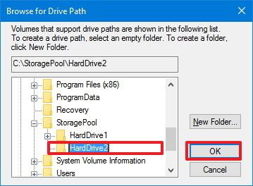 Hướng dẫn mount ổ đĩa cứng thành một thư mục trên Windows 10
