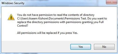 Hướng dẫn sửa lỗi Access Denied trong quá trình truy cập file hoặc