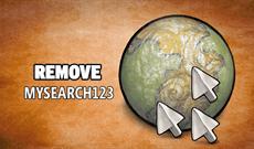 Gỡ bỏ tận gốc MySearch123.com trên trình duyệt Chrome, Firefox và Internet Explorer