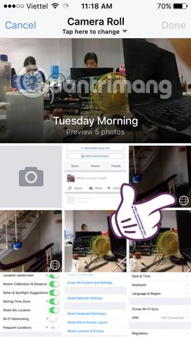 Cách xem ảnh 360 độ trên Facebook