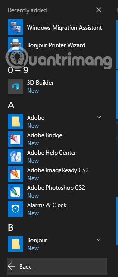 7 thủ thuật điều khiển nhanh Windows 10