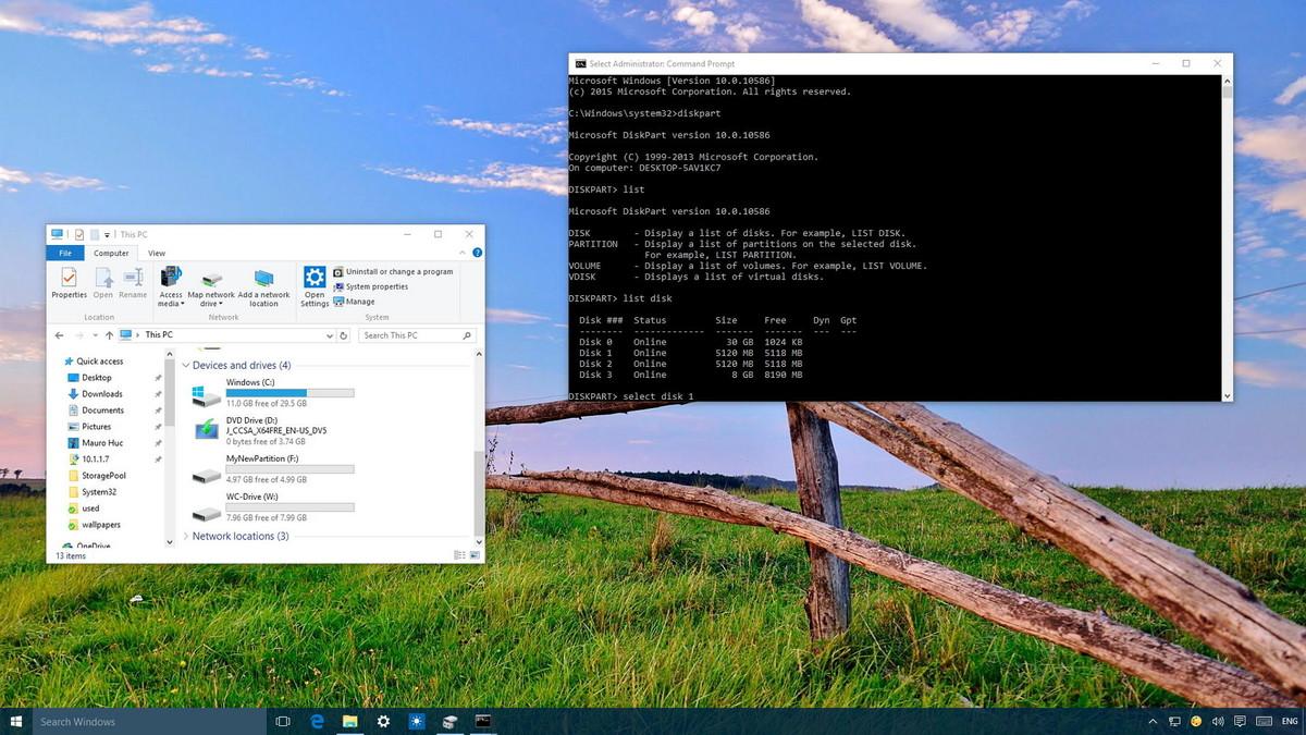 Sử dụng DiskPart để format và dọn sạch ổ cứng di động trên Windows 10