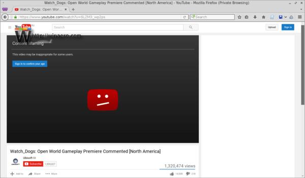 video YouTube bị chặn hoặc bị hạn chế người xem