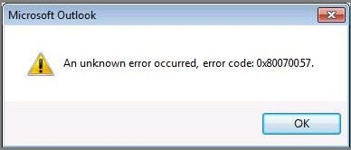Nguyên nhân và cách sửa lỗi 0x80070057 trên Windows