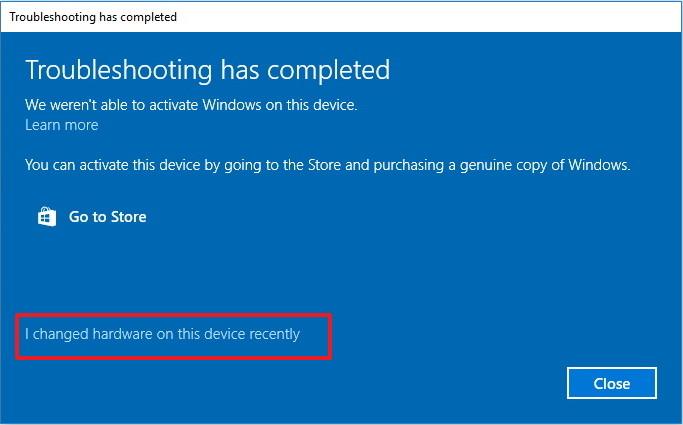 Làm thế nào để re-activate (kích hoạt lại) Windows 10 sau khi thay đổi phần cứng?