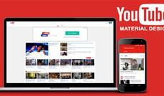 Cách kích hoạt giao diện Material Design trên YouTube