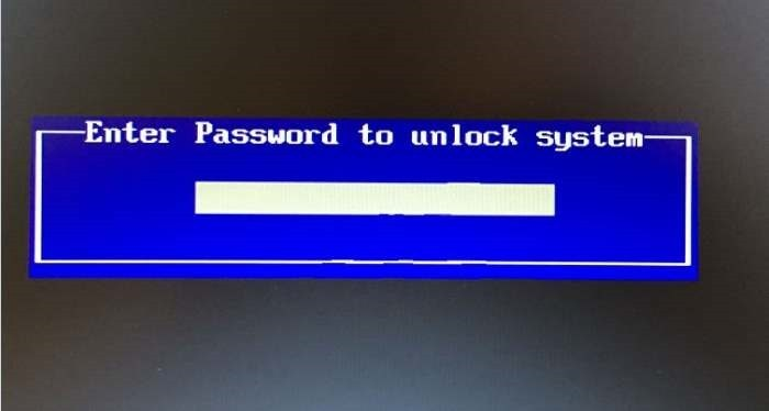 Mật khẩu BIOS và mật khẩu UEFI là gì