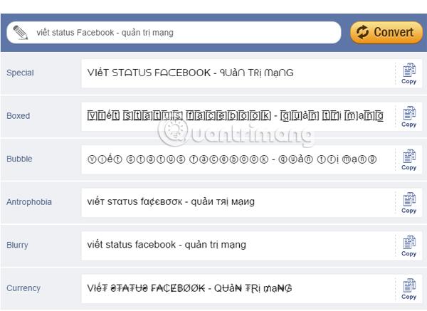 Cách viết chữ hiệu ứng độc đáo, chữ in đậm, nghiêng, gạch chân lên status Facebook, bình luận FB - Ảnh minh hoạ 3