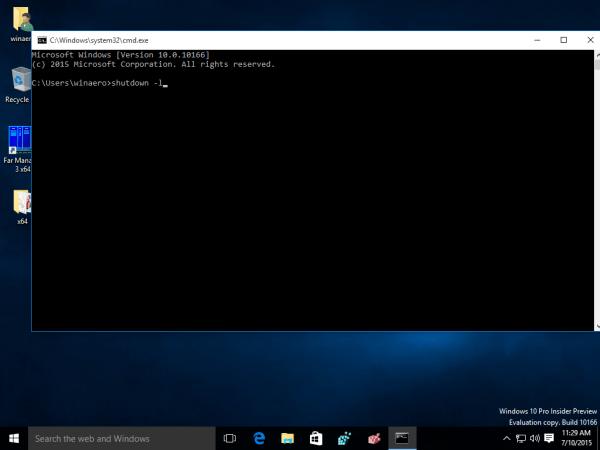 Tổng hợp một số cách đăng xuất (log out) trên Windows 8 và Windows 10