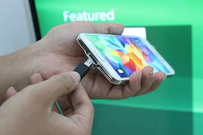 kết nối điện thoại Android với tivi Samsung
