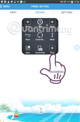 Cách tạo phím Home ảo trên điện thoại Android