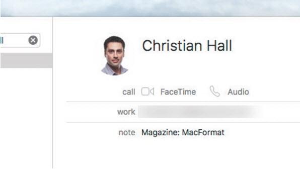 Hướng dẫn sử dụng Smart Contacts trên Mac