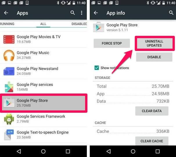 Giải mã tất cả các lỗi xuất hiện trên Google Play và cách khắc phục (Phần 1)