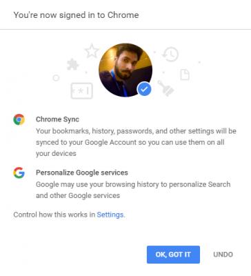Khắc phục lỗi tính năng đồng bộ Google Chrome không hoạt động