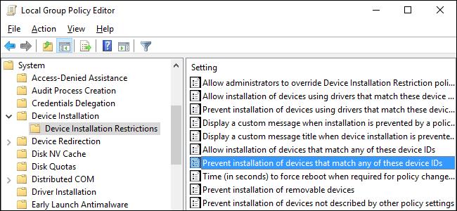 Thủ thuật ngăn Windows tự động update các driver cụ thể