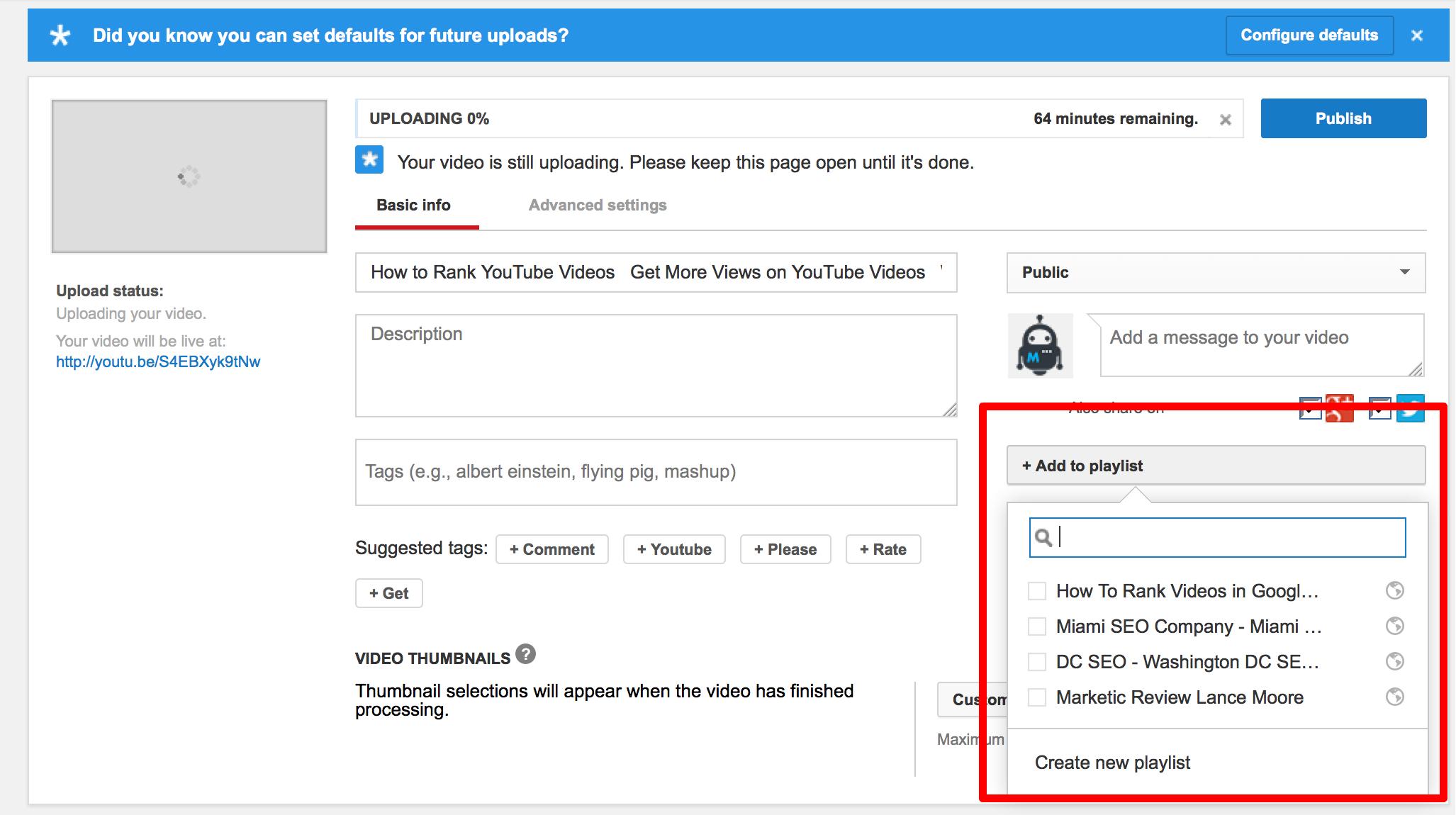 9 thủ thuật tăng thứ hạng video YouTube trên Google