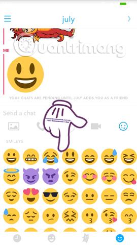 Cách sử dụng Bitmoji trong Snapchat