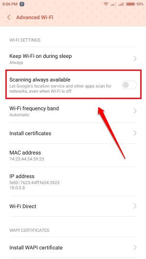 Lỗi Android kết nối Wifi bị chập chờn, đây là cách sửa lỗi