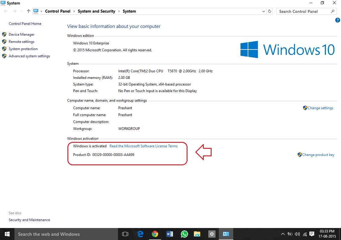 Đây là cách kiểm tra Windows 10 của bạn là Win bản quyền hay không?