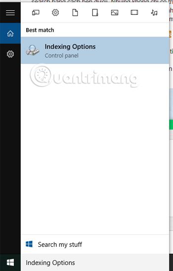 Mẹo tìm kiếm nhanh hơn trong Windows 10