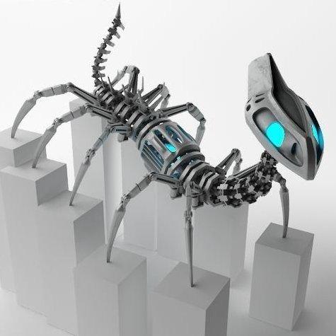 Robot nhiều chân lấy cảm hứng từ loài rết