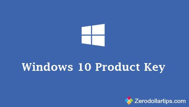 Cách thay đổi Product key trên Windows 10