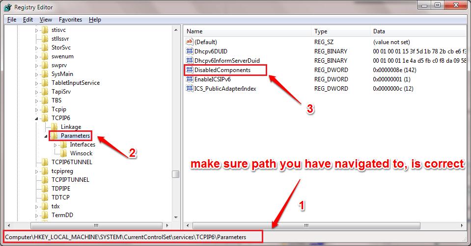 tìm key có tên DisabledComponents