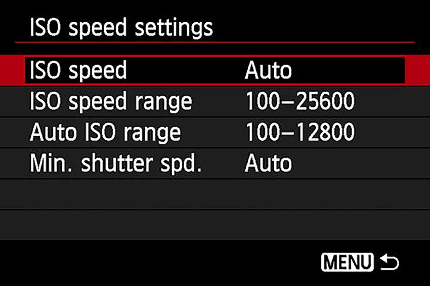 Hướng dẫn thiết lập thông số cơ bản trên máy ảnh