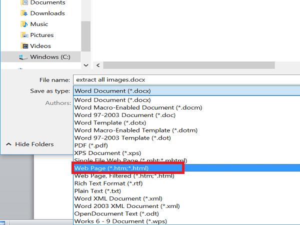 Không cần sử dụng phần mềm, đây là 3 cách lấy hình ảnh từ file Word nhanh nhất
