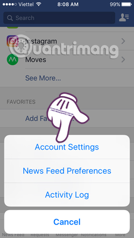 Hướng dẫn tắt tính năng AutoPlay Video trên Facebook