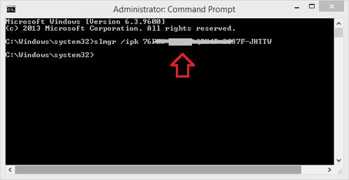 Làm thế nào để deactive Windows Product Key và sử dụng trên máy tính khác?
