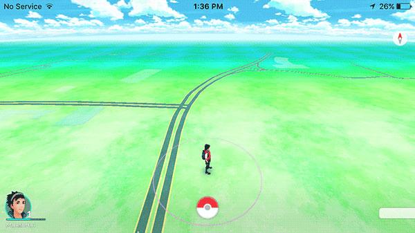 chơi game ở chế độ Landscape mode