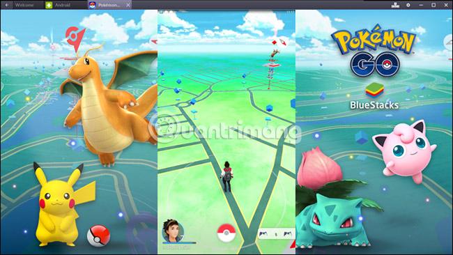 Cách chơi Pokemon Go trên PC
