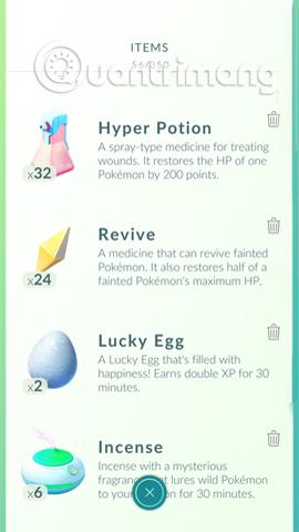 Tăng XP cho Pokemon