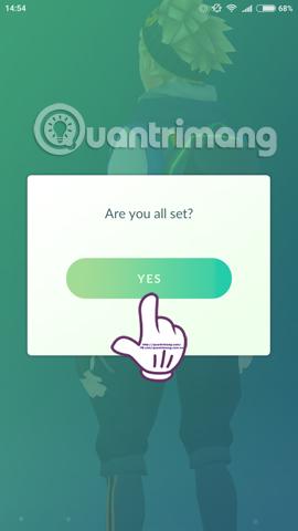 thay đổi biệt hiệu và ký tự trong Pokemon Go